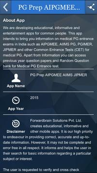 PG Prep AIPGMEE AIIMS JIPMER screenshot 1
