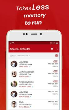 Auto Call Recorder Lite screenshot 1