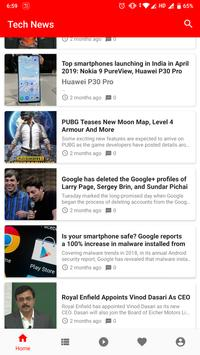 Tech News screenshot 1
