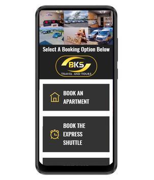 BKS Booking App poster