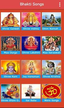 Hindi Bhakti Songs All Gods captura de pantalla 3
