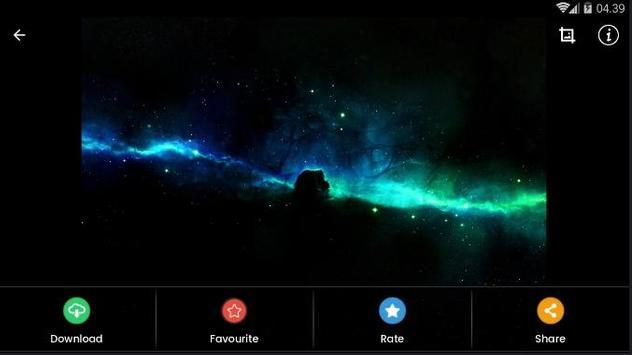 Black Aurora Wallpaper HD screenshot 8