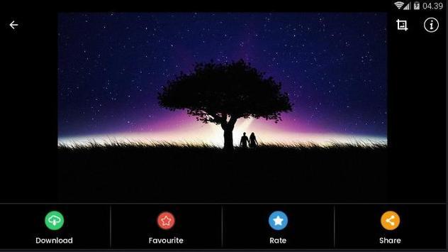 Black Aurora Wallpaper HD screenshot 9