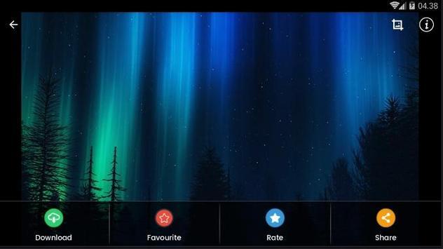 Black Aurora Wallpaper HD screenshot 14
