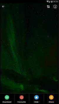 Black Aurora Wallpaper HD screenshot 1