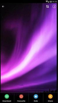 Black Aurora Wallpaper HD screenshot 2