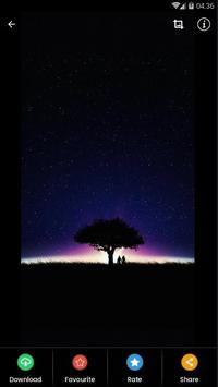 Black Aurora Wallpaper HD screenshot 3