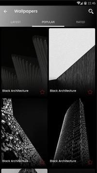 Black Architecture Wallpaper HD screenshot 7