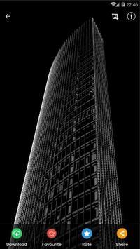 Black Architecture Wallpaper HD screenshot 2