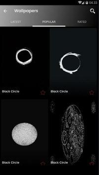 Sfondo Nero Cerchio Hd For Android Apk Download