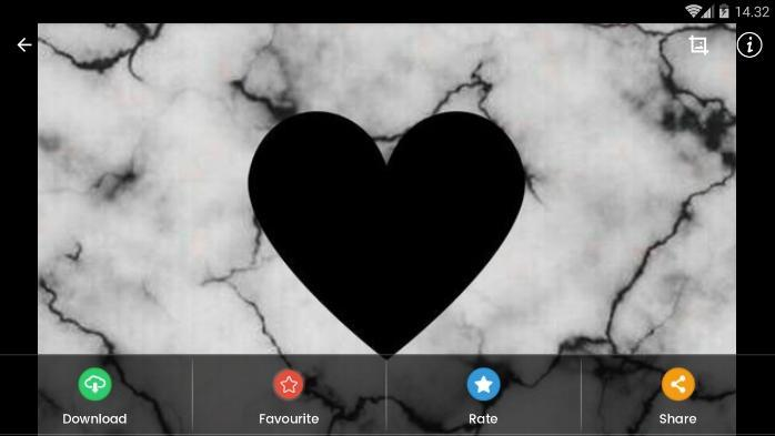 Fondo De Pantalla De Black Heart Hd For Android Apk Download