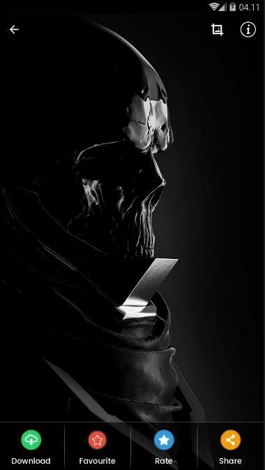Black Skull Wallpaper HD for Android - APK Download