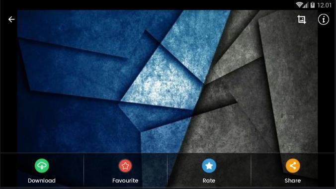 Blue Geometric Wallpaper Hd For Android Apk Download