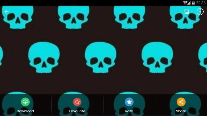 Blue Skull Wallpaper HD for Android - APK Download