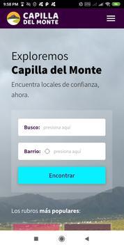 Capilla del Monte poster