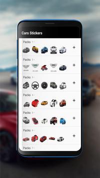 Cars Sticker screenshot 1