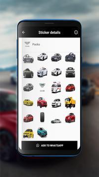 Cars Sticker screenshot 2