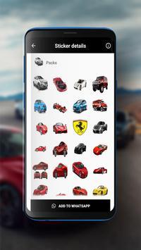 Cars Sticker screenshot 3