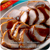Chocolate Molasses Pork Roast Recipe icon