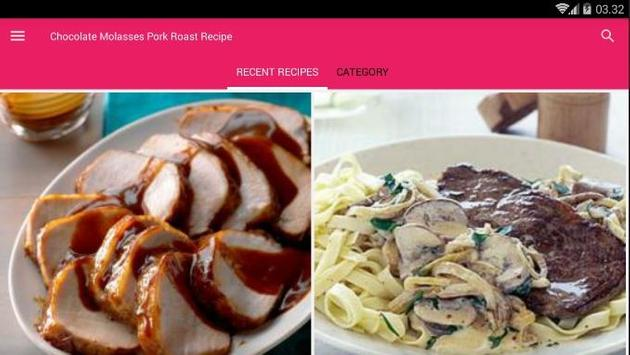 Chocolate Molasses Pork Roast Recipe screenshot 6