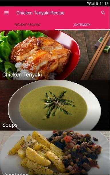 Chicken Teriyaki Recipes poster