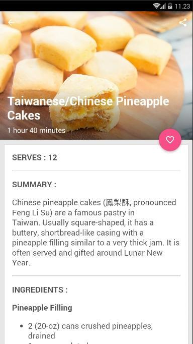 Chinese Cake Recipes poster