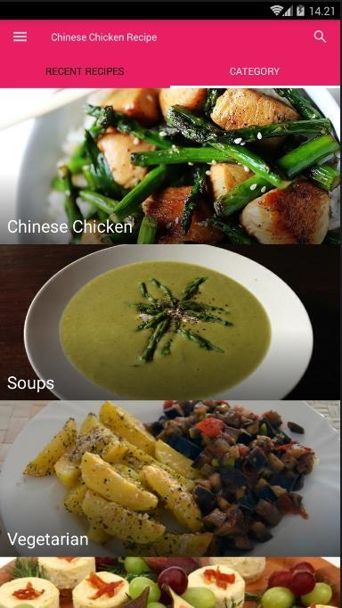 Chinese Chicken Recipes poster