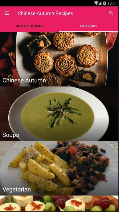 Chinese Autumn Recipes poster