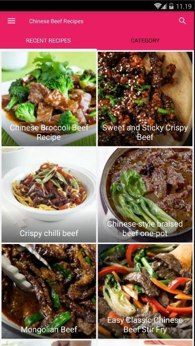 Chinese Beef Recipes poster