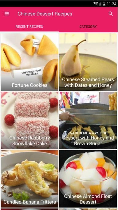 Chinese Dessert Recipes poster