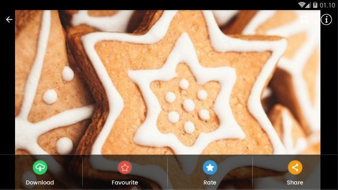Christmas Cookies Wallpaper.Christmas Cookies Wallpaper Hd For Android Apk Download
