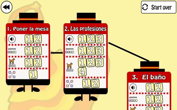 Learn Spanish by playing screenshot 1