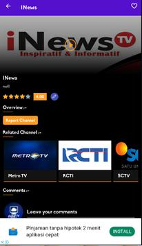 Cloud TV- Live Streaming Tv Indonesia & Olahraga screenshot 4