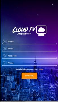 Cloud TV- Live Streaming Tv Indonesia & Olahraga screenshot 1