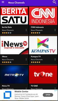Cloud TV- Live Streaming Tv Indonesia & Olahraga screenshot 2
