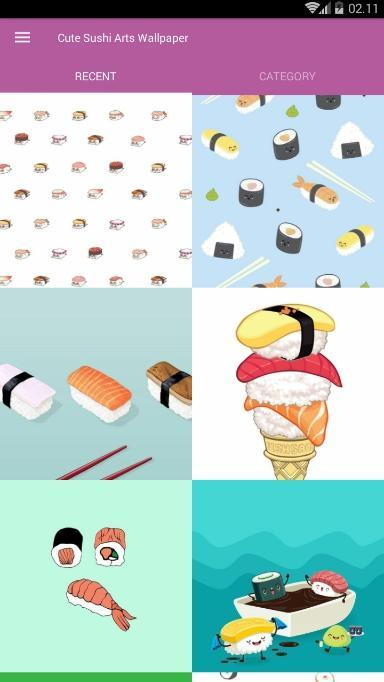 Cute Sushi Arts Wallpaper For Android Apk Download