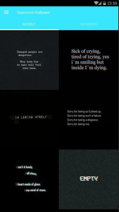 Depressed Quotes Wallpaper For Android Apk Download