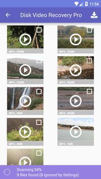 Disk Video Recovery Pro capture d'écran 1