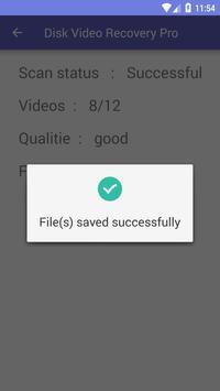 Disk Video Recovery Pro capture d'écran 6