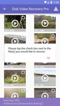 Disk Video Recovery Pro capture d'écran 7