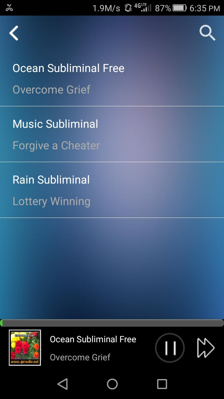 Subliminal Now for Android - APK Download