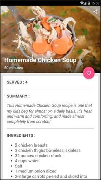 Easy Chicken Soup Recipe screenshot 2
