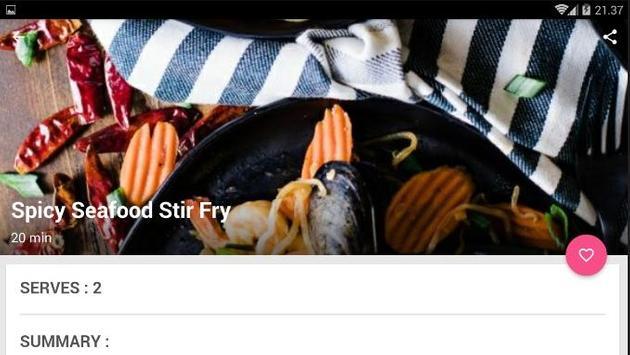 Easy Asian Seafood Recipe screenshot 4