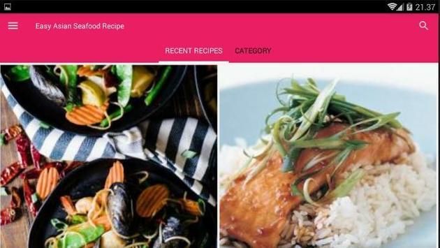 Easy Asian Seafood Recipe screenshot 6