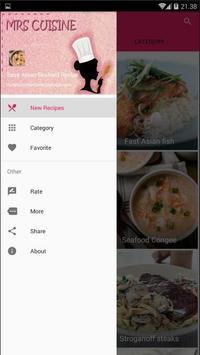 Easy Asian Seafood Recipe screenshot 1