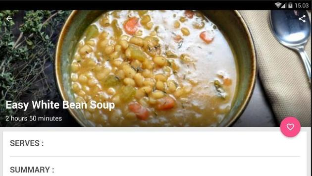 Easy Bean Soup Recipe screenshot 5