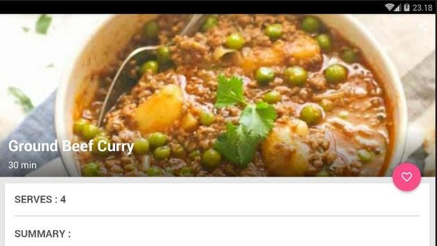 Easy Beef Curry Recipe screenshot 5