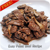 Easy Fried Beef Recipe icon