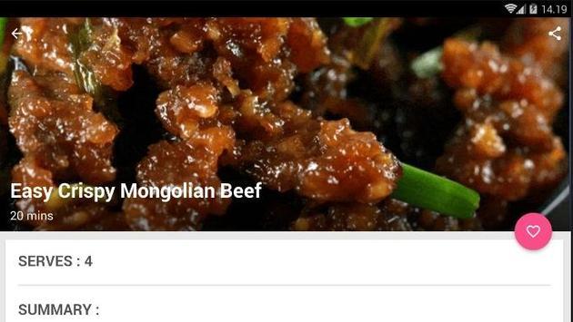 Easy Fried Beef Recipe screenshot 5