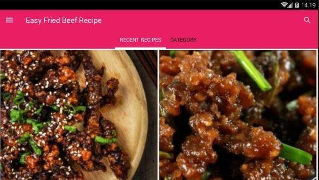Easy Fried Beef Recipe screenshot 6